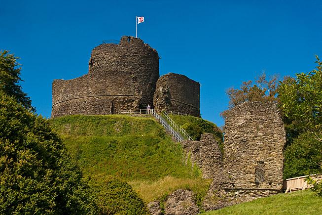 Launceston Castle, Cornwall - photography by Steve Crampton