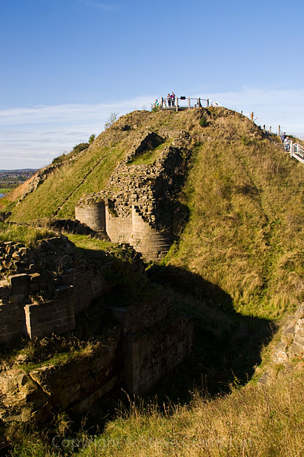 Sandal Castle, West Yorkshire - photography by Steve Crampton