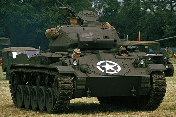 Light Tank M24, Chaffee - photography by Steve Crampton M24 Tank