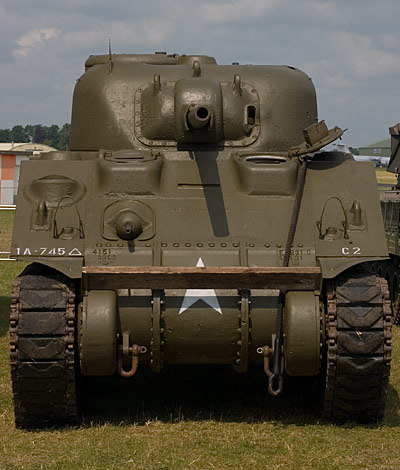 Medium Tank M4, Sherman - photography by Steve Crampton